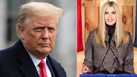 Ivanka se nepohodla s otcem kvůli Bidenově inauguraci. Chce si chránit kariéru. Podle Trumpa dělá chybu