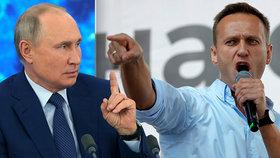 """Putinův kritik Navalnyj se po otravě vrací do Ruska. Úřady si na něj """"brousí zuby""""."""