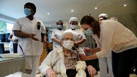 Očkování seniorů v Belgii