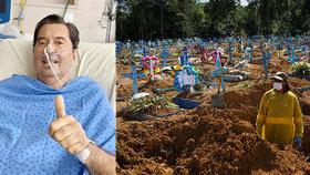 Starosta (†71), který křeslo přijímal z nemocničního lůžka, zemřel kvůli poškozeným plícím
