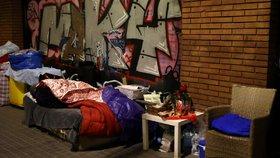 Mrazy ve Španělsku tvrdě dopadly na ty nejchudší.