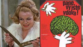 Pane, vy jste vdova!, ukázaly hvězdy poprvé před 50 lety. Komedie je trhákem dodnes.