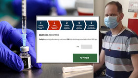 Sociální pracovník o registraci na očkování: Zklamání