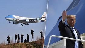 Trump si vymyslel slavnostní rozloučení těsně před Bidenovou inaugurací, té se nezúčastní