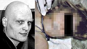 Brutální vrah Vladimír Bayer ze msty zavraždil svou neteř Moniku (†7).