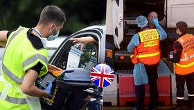 Všichni cestující přes britské hranice budou muset předložit negativní test na koronavirus.