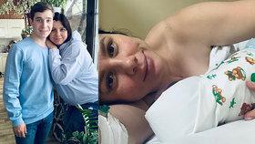 Hvězda instagramu Marina otěhotněla s nevlastním synem: Narodila se jim dcerka