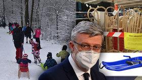 Vláda se uvolnit prodej bob nebo sáněk podle ministra Karla Havlíčka nechystá.