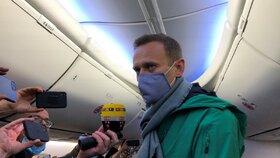 Alexej Navalnyj opustil Německo.