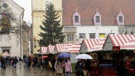 Podle meterologů nás letos zřejmě čekají deštivé Vánoce.