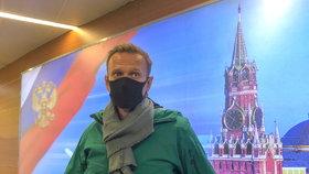 Alexeje Navalného zadrželi hned po příletu do Moskvy, převezli jej do vězení v Chimki (17.1.2021)