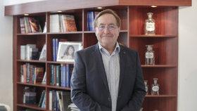 Ředitel vinohradské nemocnice Petr Arenberger.