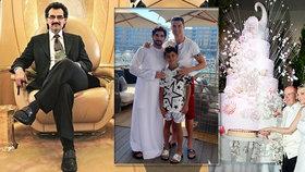 Královské rodiny bohatší než ta britská? Luxus v podobě jachet, zámků a drahých aut!