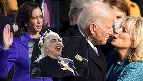 Biden složil přísahu, hymnu mu zazpívala Lady Gaga.