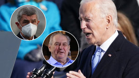 Prezident Miloš Zeman i premiér Andrej Babiš (ANO) gratulovali Joeu Bidenovi k převzetí Bílého domu.