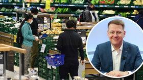 Šéf svazu Prouza varuje před kvótami na české potraviny.