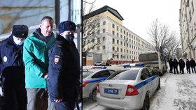 Alexej Navalnyj: Drží ho v nechvalně známé věznici Matrosskaja Tišina