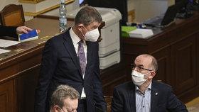 Jednání Poslanecké sněmovny o prodloužení nouzového stavu (21. 1. 2020)