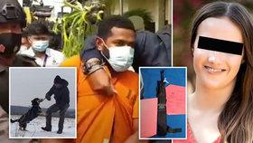 Slovenku Adrianu (†29) zavraždili na Bali. Hlavním podezřelým je její papuánský expřítel. Zadrželi ho dvě hodiny po nálezu těla.