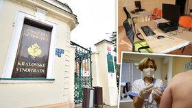 Ve vinohradské nemocnici vzniklo nové očkovací centrum zaměřené na boj s covidem-19.