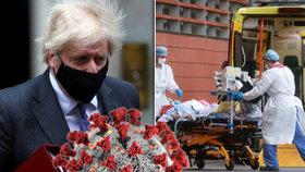 Britský premiér Boris Johnson uvedl, že britská mutace koronaviru je smrtelnější, naznačují to podle něj vědecké poznatky.