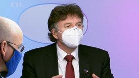 Prezident lékařské komory Milan Kubek kritizoval v OVM ministra zdravotnictví Jana Blatného (24.1.2021)