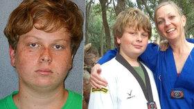 Puberťák se pohádal s matkou kvůli známce, pak ji zabil.