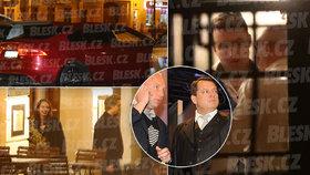 Party v hotelu teplického kmotra Petra Bendy (50), na které byl i expremiér Paroubek.