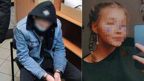 Vrah Patricie (†13) Kašpar (15). Expřítel těhotné dívky se k činu už doznal.