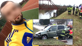 Mladičký Vadim beze stopy zmizel: Po 12 dnech našli tělo uvězněné v utopeném autě.