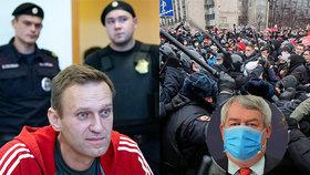 Do vězněného Rusa a opozičního kritika Navalného se opřel šéf českých komunistů Vojtěch Filip