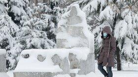 Počasí v Bulharsku láká lyžaře (27.1.2021).