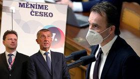 Podle šéfa Sněmovny Radka Vondráčka by nebylo vhodné, aby Milan Hnilička znovu kandidoval do Sněmovny za hnutí ANO.