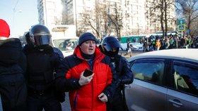 Zatýkání před moskevským soudem