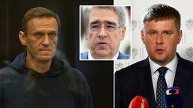 """Ruský velvyslanec byl u Petříčka """"na koberečku"""". Ministerstvo chce propuštění Navalného."""