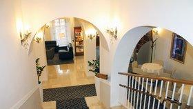 Interiér hotelu Prince de Ligne v Teplicích