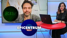 Olomoucký vědec Martin Mistrík v Epicentru 11.2.2021
