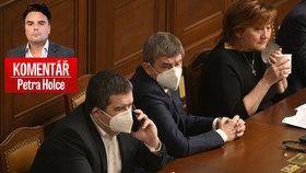 Petr Holec komentuje bitvu o (ne)prodloužení nouzového stavu ve Sněmovně.