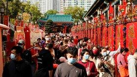 Koronavirus v Číně: Město Wu-chan jako epicentrum nákazy nyní slaví lunární nový rok