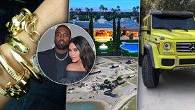 Rozvod Kim Kardashian a Kanyeho Westa: Co si budou muset rozdělit?