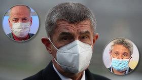 Nahradí Romana Prymulu epidemiolog z IKEM Petr Smejkal? Premiér Andrej Babiš (ANO) to zvažuje.