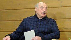 Běloruský vůdce Alexandr Lukašenko na návštěvě v Soči u ruského prezidenta Vladimira Putina (22. 2. 2021)