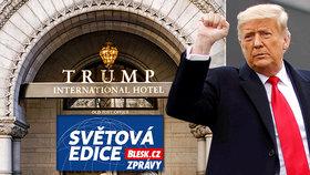 Trump a jeho hotel.