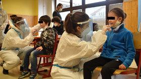 Praha 6 zkoušela preventivní testování žáků základních škol pomocí antigenních a PCR testů.