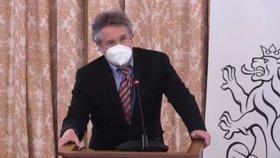 Slyšení kandidátů do Rady ČT: Epidemiolog Petr Smejkal (17.3.2021)