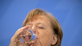 Německá kancléřka Angela Merkelová (23. 3. 2021)