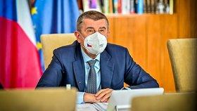 Jednání vlády: Premiér Andrej Babiš (29.3.2021)