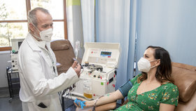 darování krevní plazmy může zachránit i covidového pacienta