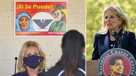 """""""Ano, my otec""""? Bidenová pobavila Američany svou """"španělštinou"""", někteří si stýskají po Melanii"""
