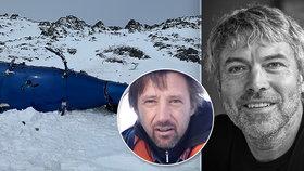 Ben Larochaix a Petr Kellner zahynuli při pádu vrtulníku.